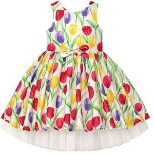 Size 24 month NWT beautiful tulip dress